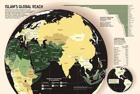 Islam World Map by Int U0027l Population Center Sdsu