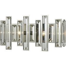 elk lighting 33010 2 crystal heights bathroom vanity lights