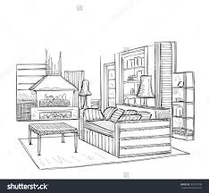 cool 70 room sketch decorating design room sketch home design