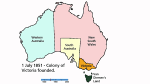 territories of australia map territorial history of australia