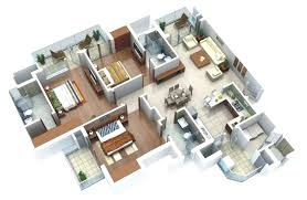 3 Bedrooms House Plans Designs 3 Bedroom Design Plan One 1 Bedroom Apartment House Plans 3