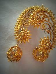 bengali gold earrings bengali bridal jewellery the dazzling bodhu eves