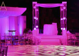 wedding arches los angeles acrylic lucite wedding chuppah canopy rentals miami south