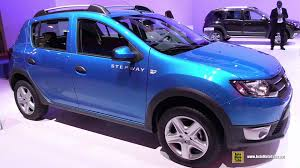 sandero renault price 2015 dacia sandero stepway exterior and interior walkaround