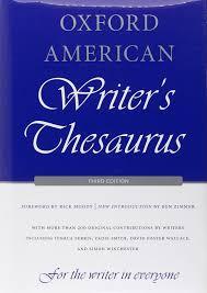 oxford american writer u0027s thesaurus david auburn rae armantrout