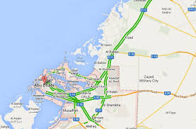 traffic map uae road traffic live on map maps uae live traffic