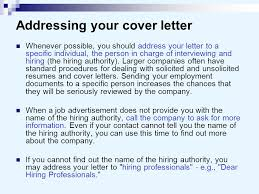 good how do you address someone in a cover letter 38 for your