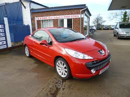 peugeot 207 sedan peugeot 207 cc 1 6 16v 2d for sale parkers