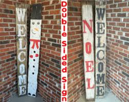 Decoration Christmas Wood by Christmas Wood Sign Etsy