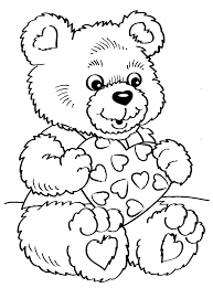 good valentine coloring page 69 for line drawings with valentine