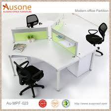 White Gloss Office Furniture by Workstation For 3 Person Modular Office Desk White Gloss Buy