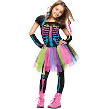 funky punky bones child halloween costume walmart com
