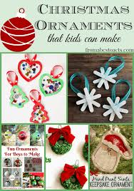 diy ornaments for from abcs to acts