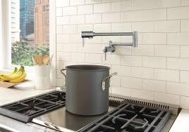 100 wall mount pot filler kitchen faucet danze d205057br
