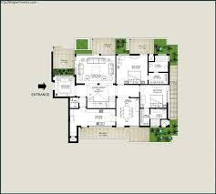 Double Bedroom Independent House Plans Emaar Mgf Palm Springs Apartments In Sector 54 Gurgaon