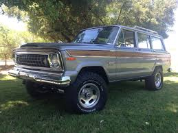 jeep wagoneer lifted 1976 wagoneer u2013 the jeep farm