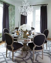 Black Dining Room Chairs Best 25 Black Round Dining Table Ideas On Pinterest Dining