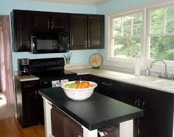 kitchen paint colors with espresso cabinets espresso cabinets above and below homebnc