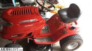 armslist for sale trade troy bilt 17 5hp riding lawn mower 42