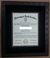 diploma framing columbia frame shop quality custom picture framing