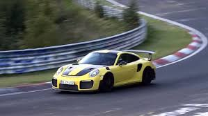 has the porsche 911 gt2 rs smashed the nurburgring production car
