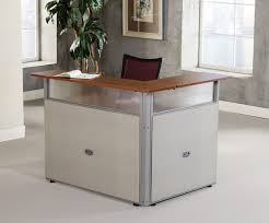 L Shaped Reception Desks Ofm Pg297 Rize L Shaped Reception Desk For Lobby
