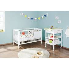 Cot Changing Table Pinolino Nursery Furniture