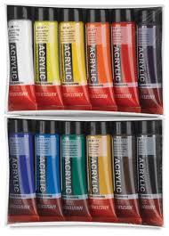 amsterdam standard series acrylics blick art materials