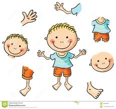 parts of the body for kids clipart clipartxtras