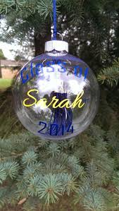 personalized graduation tassel ornament
