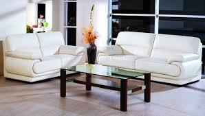 Modern Corner Sofa Bed Beige Full Leather Modern Living Room Sofa W Options