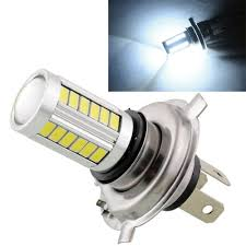 Led Light Bulbs For Headlights by 2pcs H4 Led 5630 33smd Super Bright White Car Light Source