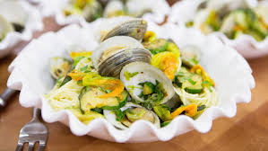Lidia S Kitchen Recipes by Lidia Bastianich U0027s Spaghetti With Clams And Zucchini Today Com