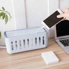 Desk Organizer Box Desk Organizer Creative Unique Design Charging Cables Storage Box