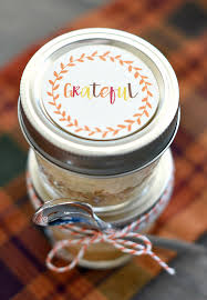 mini dessert for thanksgiving pumpkin pie in a jar squared