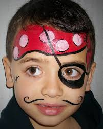 pirate face paint face painting pinterest pirate face face