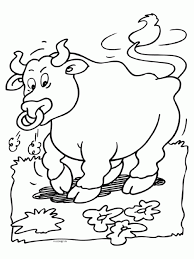 bull coloring pages coloringpages1001