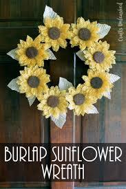 halloween burlap wreath diy fall wreath rustic burlap crafts unleashed