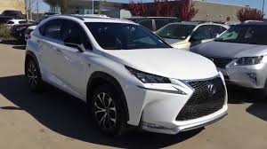 white lexus black grill lexus certified pre owned white 2015 nx 200t awd f sport series 1