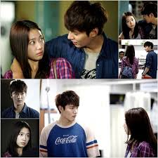 film drama korea lee min ho lee min ho is all over park shin hye in their first official meeting