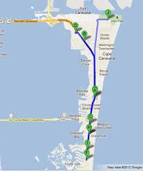 port canaveral map cocoa florida hotels