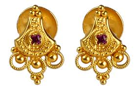 png gold earrings purabi er 9467 13 calcutta design earrings