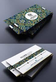 visitenkarten design kostenlos minimalistisches aber trotzdem interessantes design beispiel für
