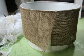Home Decor Fabric Canada by Decor U0026 Tips Awesome Natural Burlap Lamp Shade Fabric For Floor