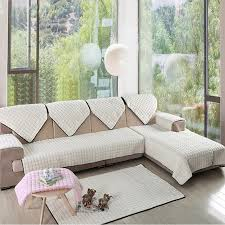White Sofa Cover by Aliexpress Com Buy Luxury Furniture Protector For Sofa 2 3 Seat