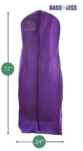 amazon com purple wedding gown travel u0026 storage garment bag by