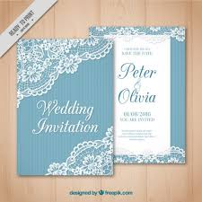 vintage wedding invites vintage wedding card with lace detail vector free