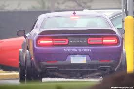 widebody muscle cars ford bronco confirmed wide body dodge challenger spied mercedes