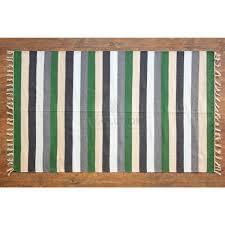 Area Rug Size by Dhurrie U0027 Handmade Flat Weave Stripe Area Rug Size 3 U0027x5