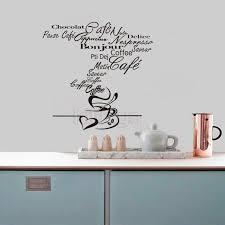 vinyl mural cuisine stickers cuisine cafe vinyl wall decals mural wall
